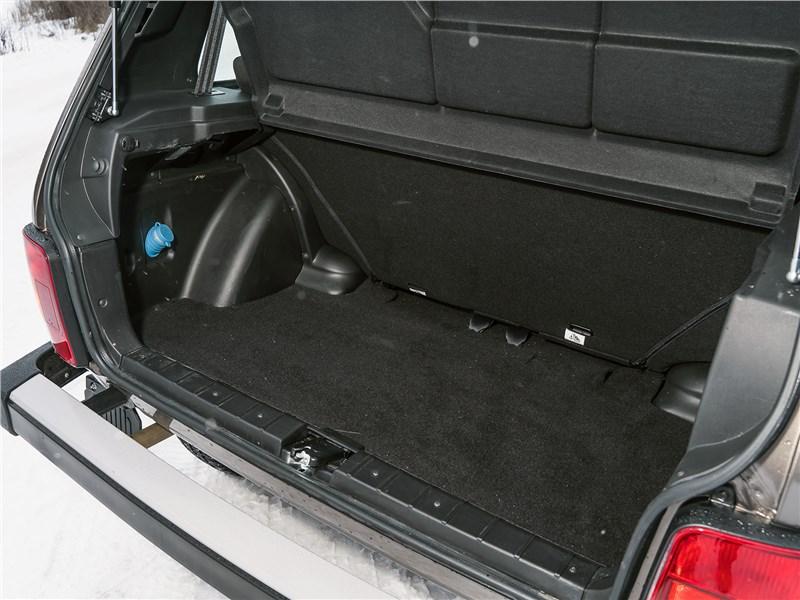 Lada 4x4 2019 багажное отделение