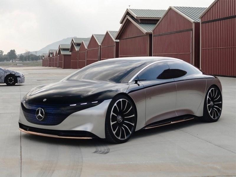 Электрический флагман Mercedes-Benz получит AMG-версию