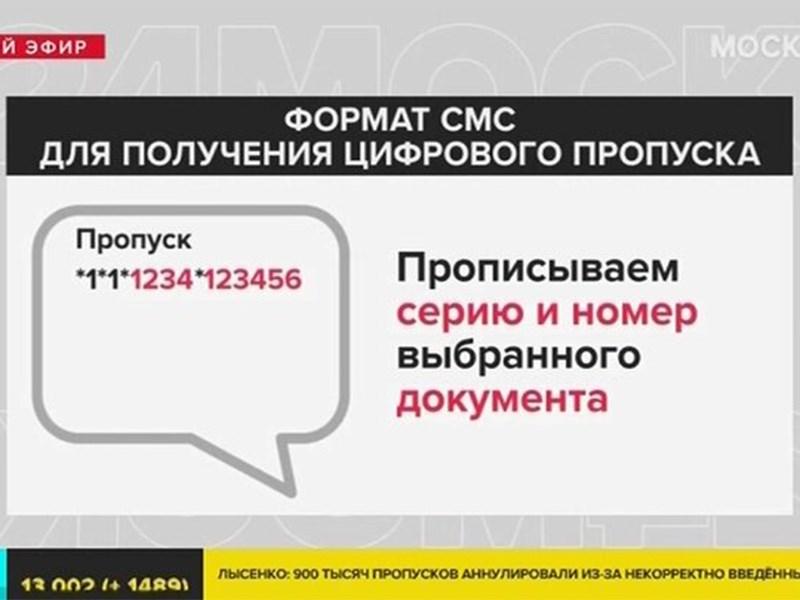 Водителям снова разрешили оформлять цифровые пропуска с помощью СМС