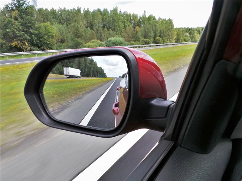 Kia Seltos 2020 боковое зеркало