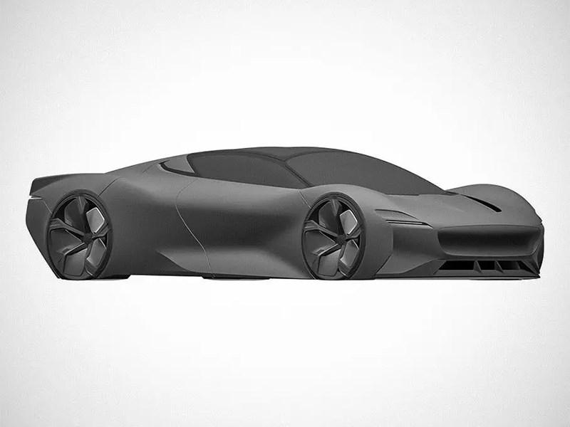 В Сети появились изображения загадочного концепта Jaguar