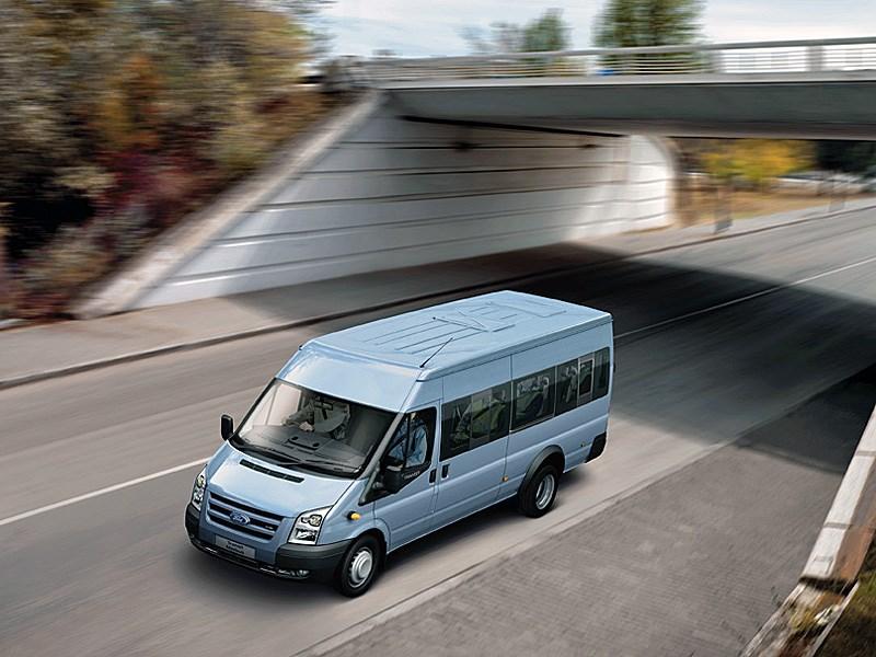 Ford Tranzit 2006 микроавтобус длинная база средняя крыша фото 1