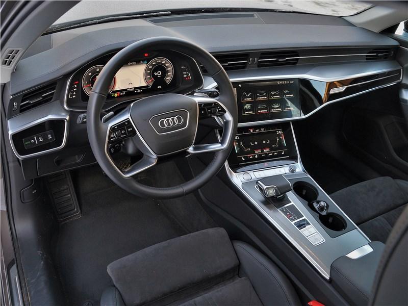 Audi A6 allroad quattro (2020) салон