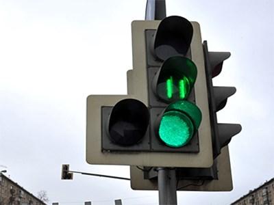 На московских светофорах внутри Садового кольца установят табло отсчета