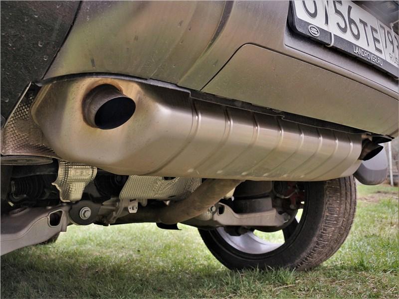 Land Rover Defender 90 (2020) задний бампер