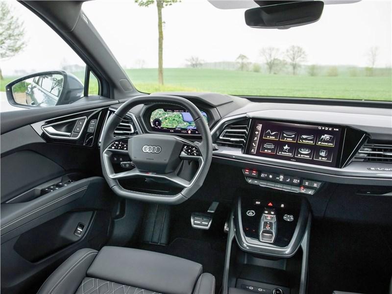 Audi Q4 e-tron (2022) салон