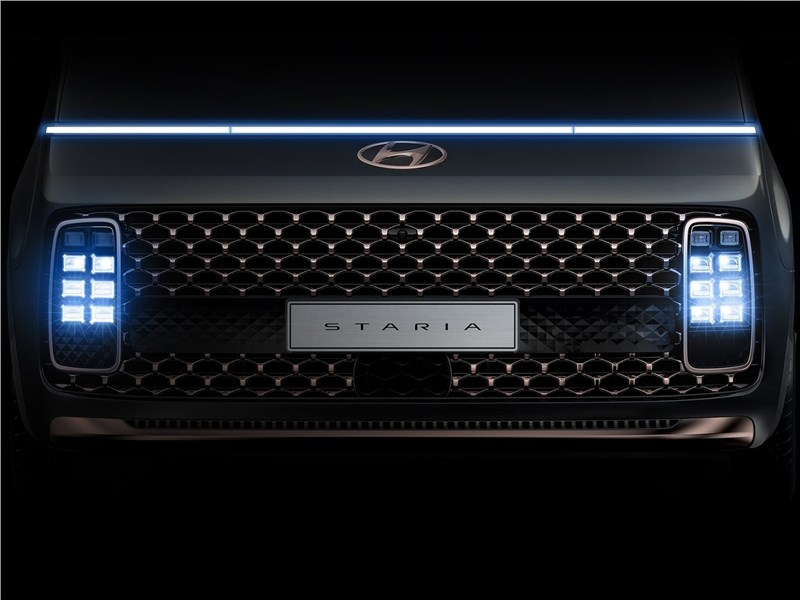Hyundai Staria (2022) решетка радиатора