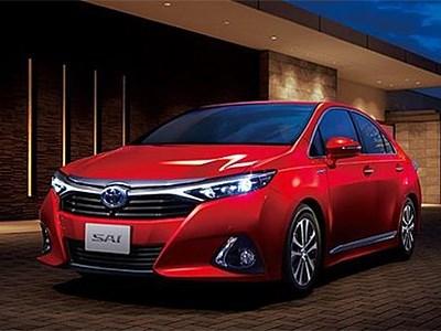 Toyota представила рестайлинговый седан Sai