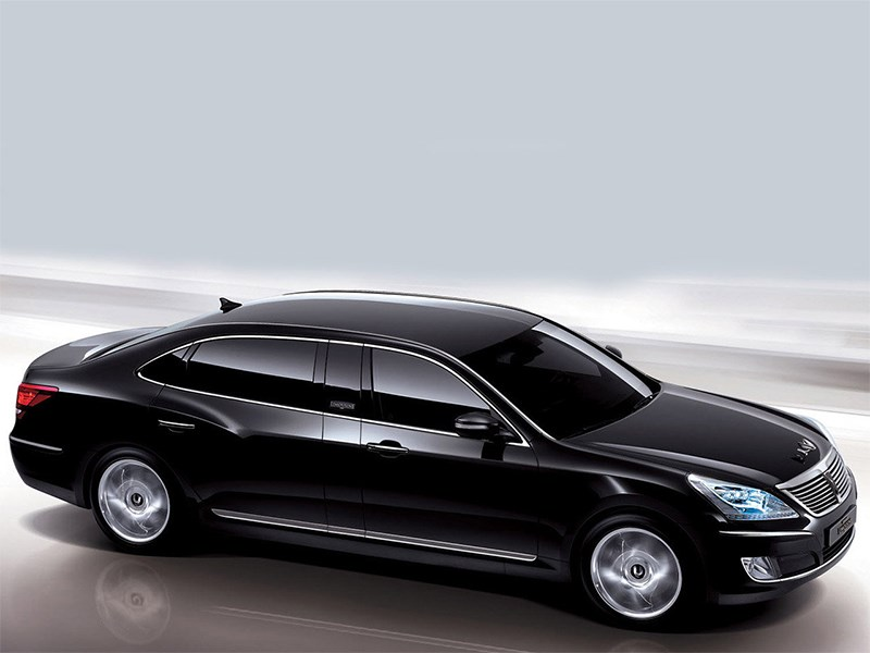 Hyundai Equus Limousine появился в продаже в России
