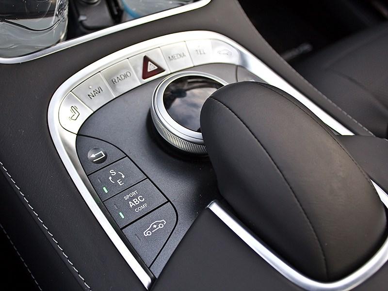 Mercedes-Benz S-Klasse 2013 управление мультимедийной системой