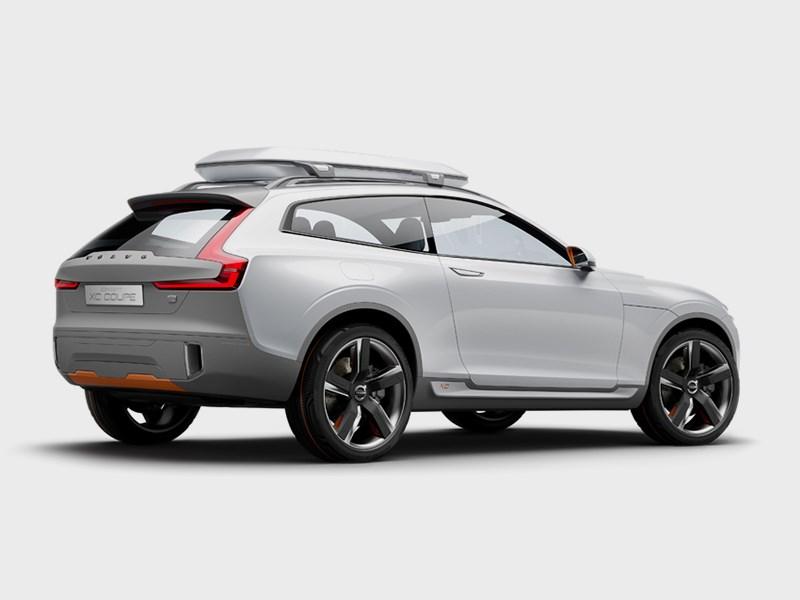 Volvo XC Coupe concept 2014 вид сбоку фото 3
