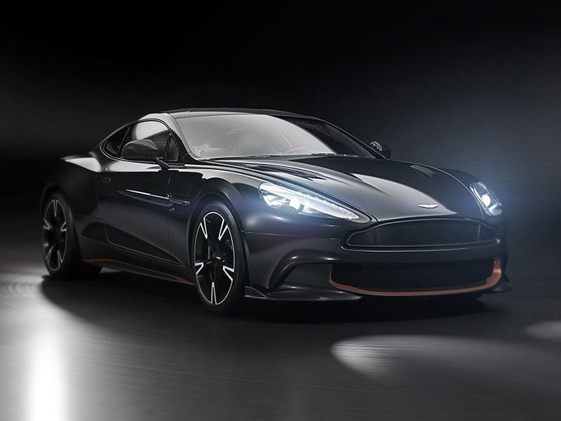 Aston Martin попрощался с Vanquish спецсерией