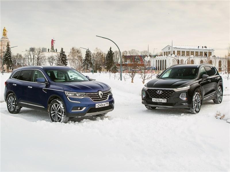 Hyundai Santa Fe и Renault Koleos: внешность имеет значение