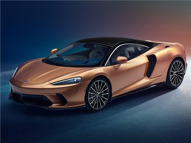 McLaren GT 2020 вид спереди