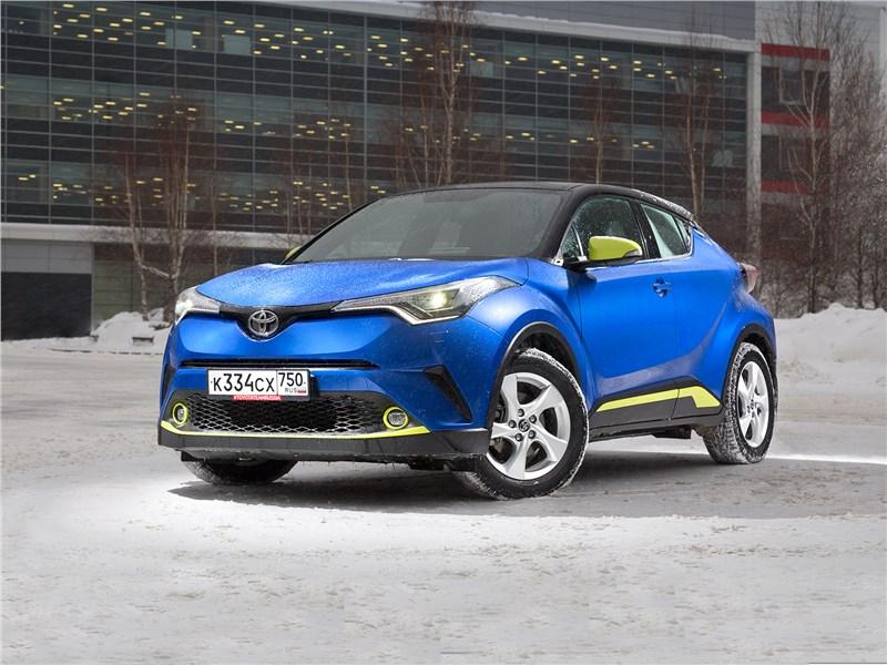 Тест драйв Toyota C HR (поколение I) Фото Авто Коломна