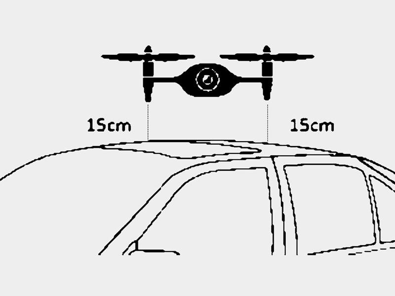 В BMW запатентовали дрона мойщика машин Фото Авто Коломна