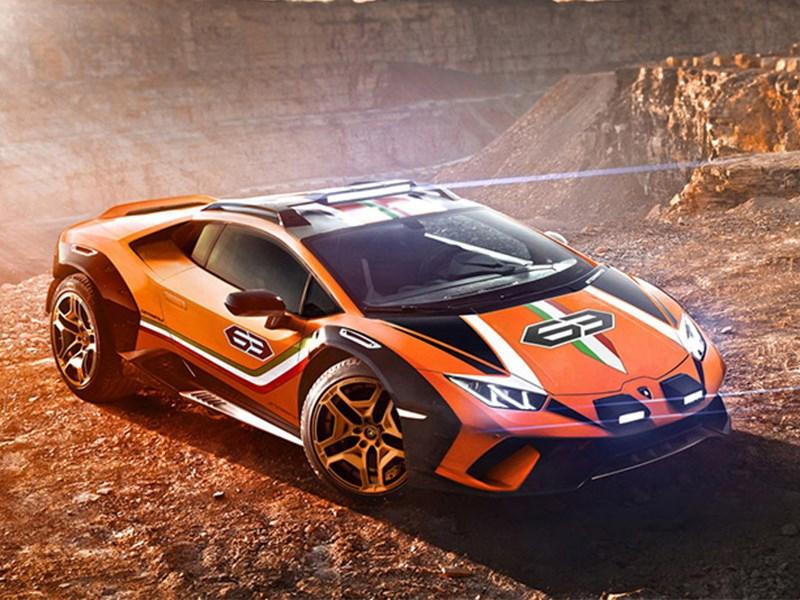 Lamborghini выпустила вседорожный Huracan