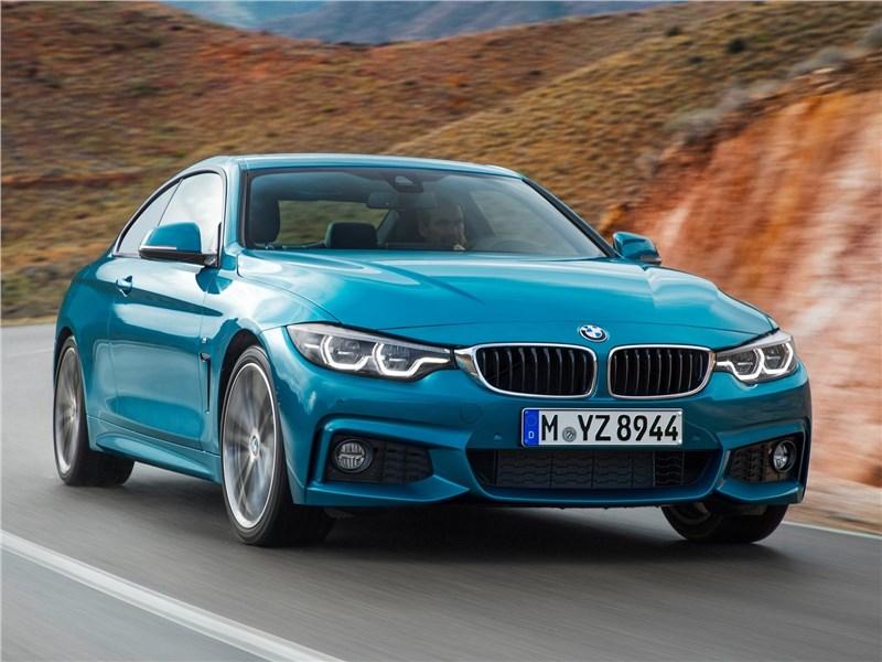 BMW 4-Series Coupe 2018 вид спереди