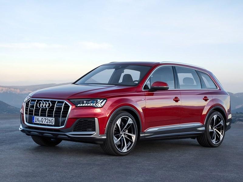 Audi представила обновленный кроссовер Q7