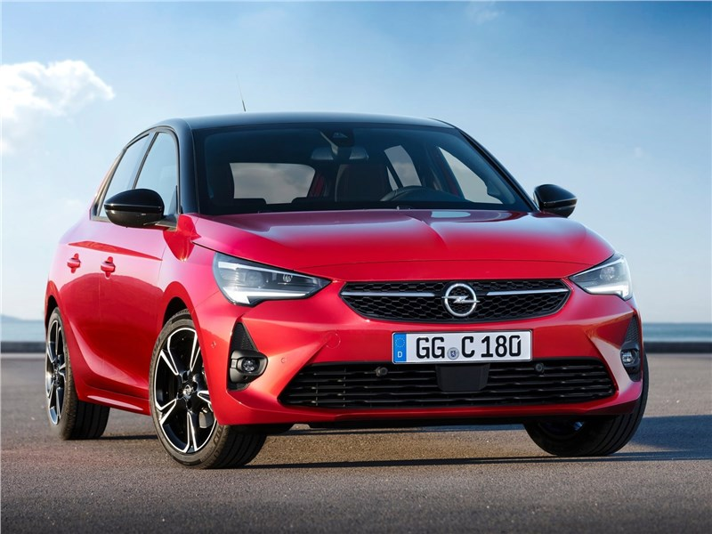 Opel Corsa 2020 вид спереди