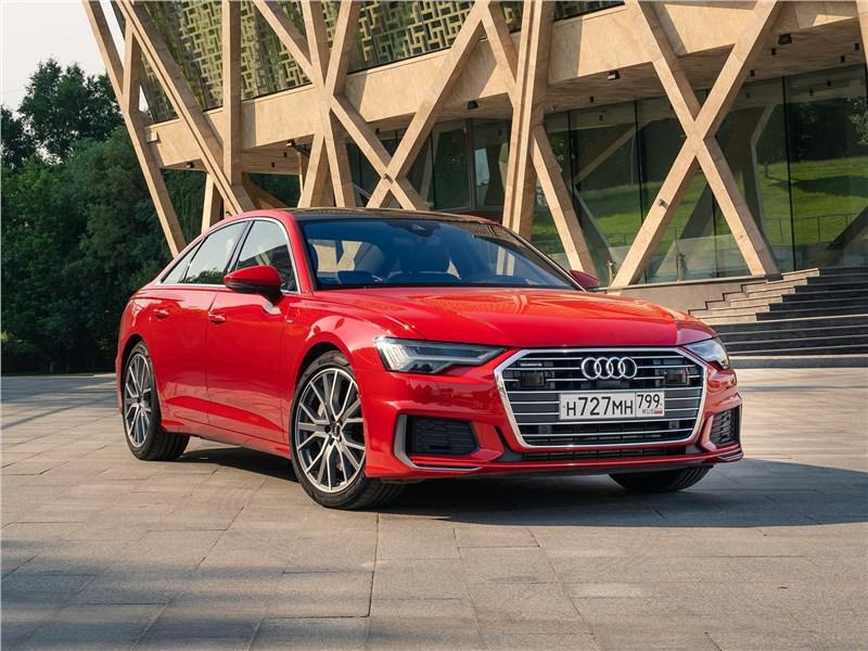Audi A6 55 TFSI quattro 2019 И снова здравствуйте: почему Audi A6 каждый раз открываешь заново
