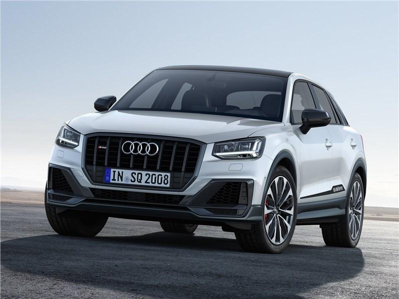 Audi SQ2 2019 вид спереди