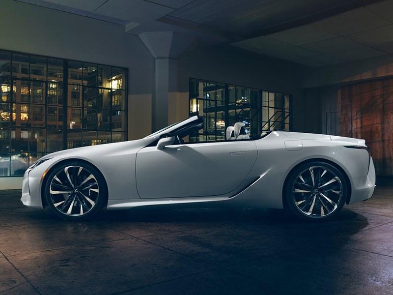 Lexus готовит новый кабриолет Фото Авто Коломна