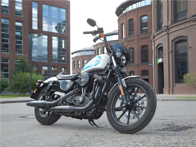 Harley Davidson Iron 1200. Он такой один Фото Авто Коломна