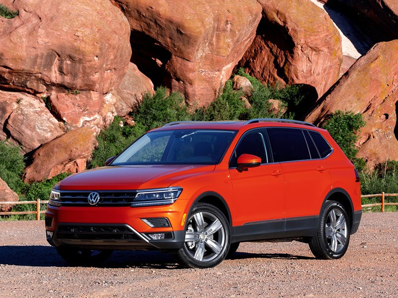 Новый Volkswagen Tiguan появится в 2022 году Фото Авто Коломна