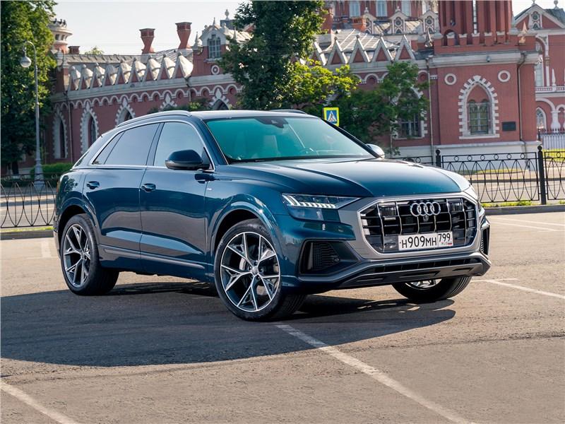 Audi Q8 - на какой крючок вас может подцепить audi q8 2019