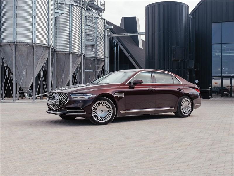Hyundai Genesis G90 - кому на руси «кореец» genesis g90 пригодится