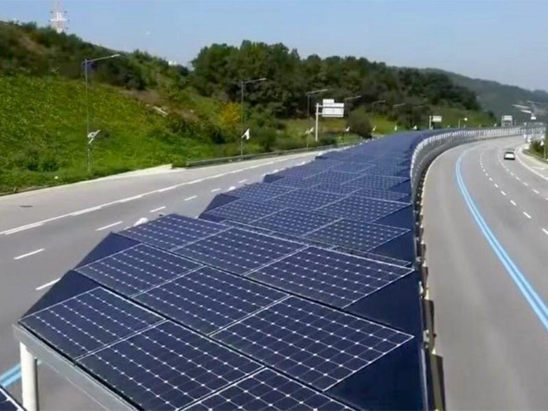 Дорога из солнечных батарей: это провал! Фото Авто Коломна