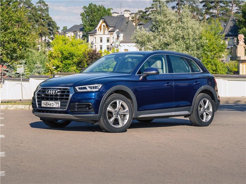 Audi Q5 - audi q5 2017: комфортная экспресс-доставка от бездорожья к бутику