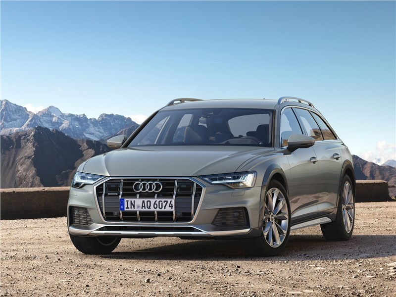 Audi A6 allroad quattro 2020 вид спереди