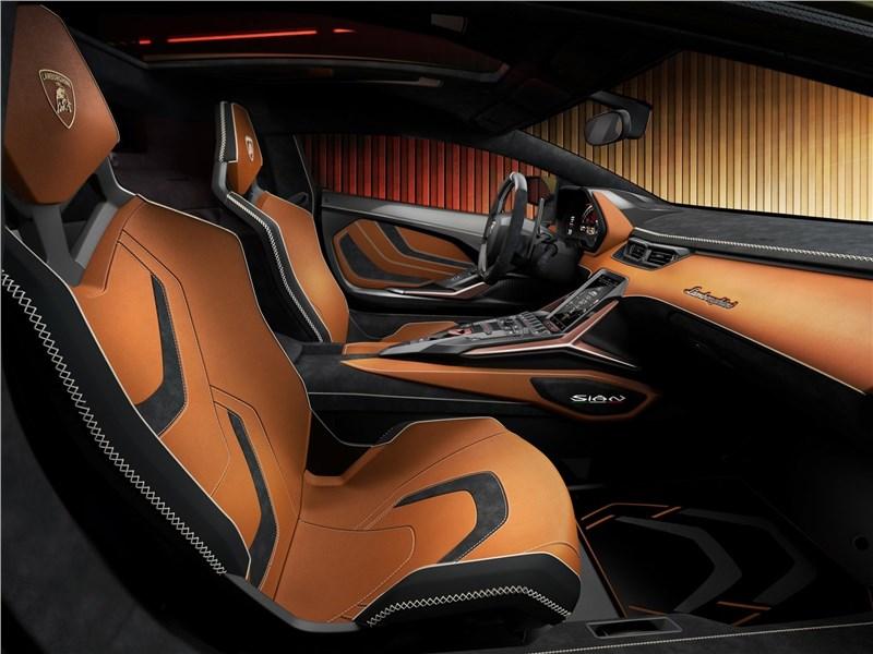Lamborghini Sian 2020 кресла