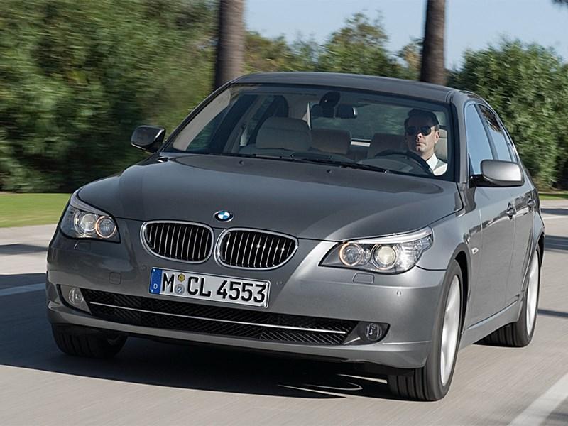 BMW отзывает 134 тысячи автомобилей пятой серии