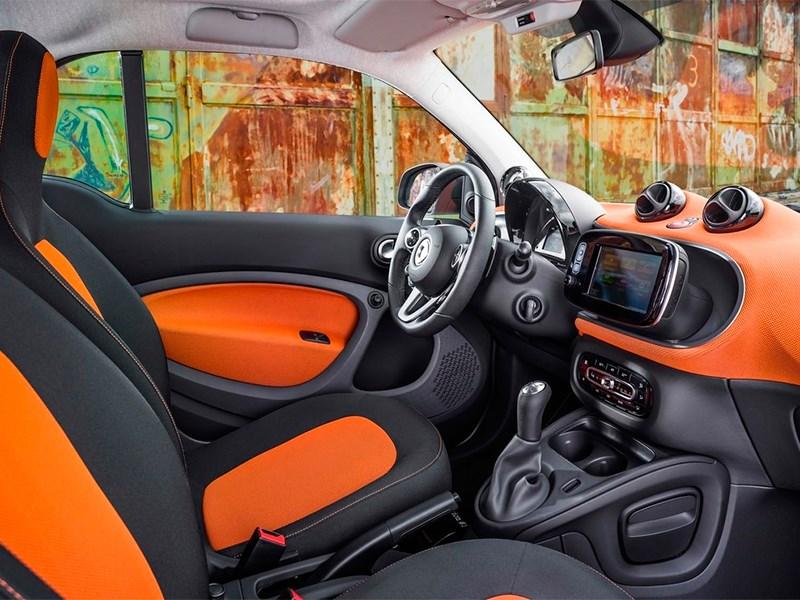 Smart Fortwo 2015 передние кресла