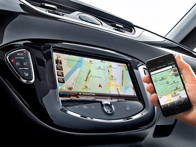 Opel Corsa 2015 монитор навигатора