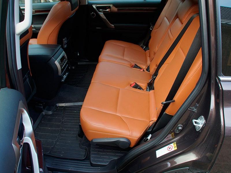 Lexus GX 460 2014 задний диван