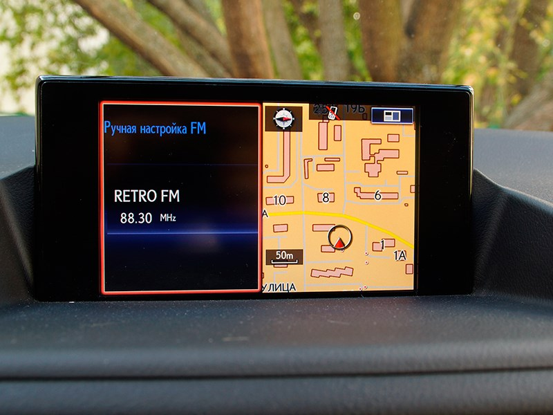 Lexus CT 200h 2014 дисплей фото 5