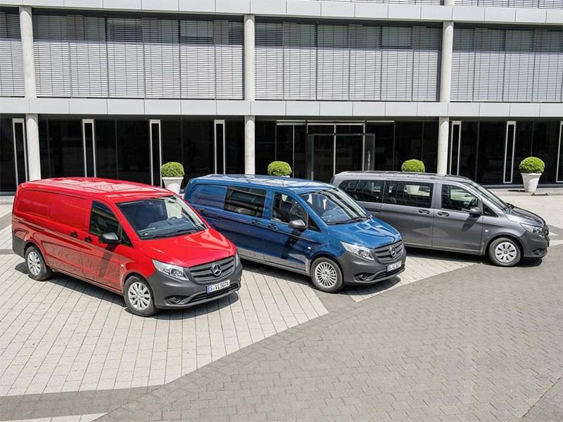 Mercedes-Benz Vito 2015 три модификации