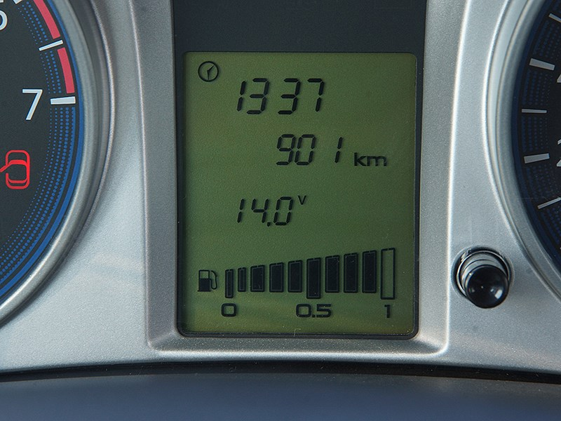 Datsun on-DO 2014 приборная панель