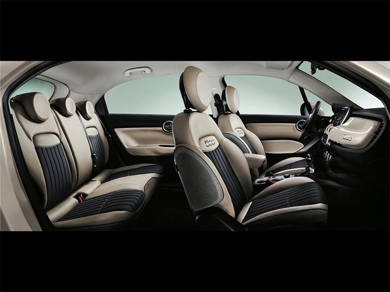 Fiat 500X 2015 салон