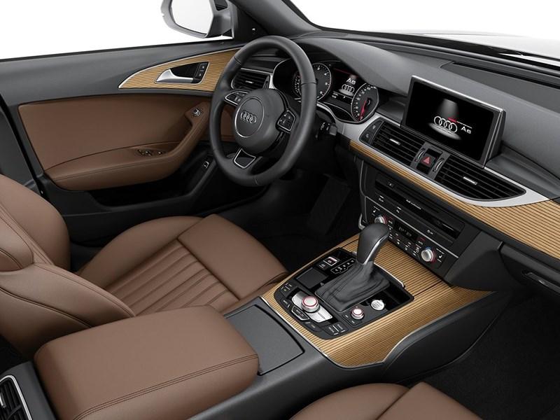 Audi A6 Avant 2015 водительское место