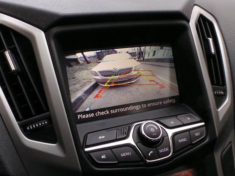 Chery Arrizo 7 2014 экран мультимедийной системы