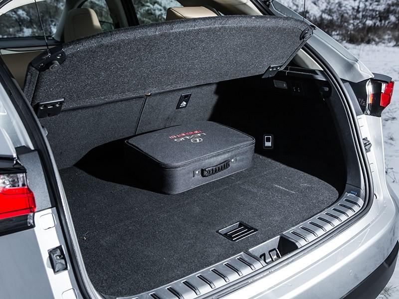 Lexus NX 300h AWD 2015 багажное отделение