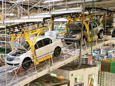 Renault останавливает московский завод