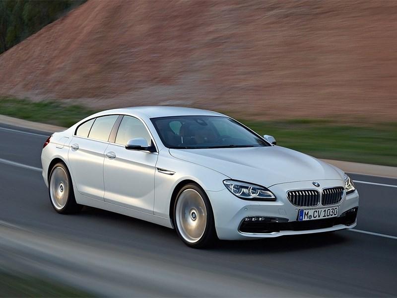 BMW 6-Series Gran Coupe 2015 вид спереди