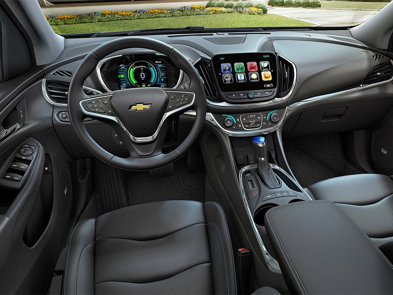 Chevrolet Volt 2016 салон