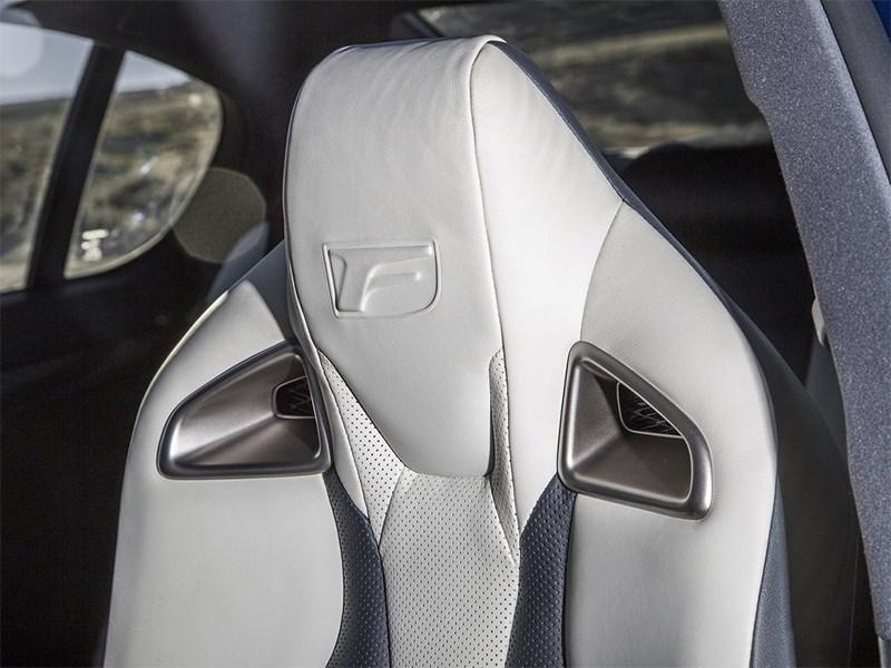 Lexus GS F 2016 подголовник переднего кресла